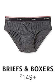 Briefs & Boxers