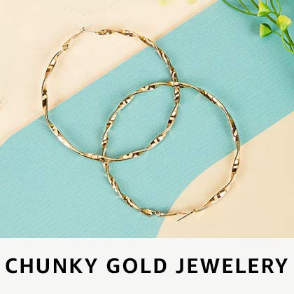 Chunky Gold jewellery
