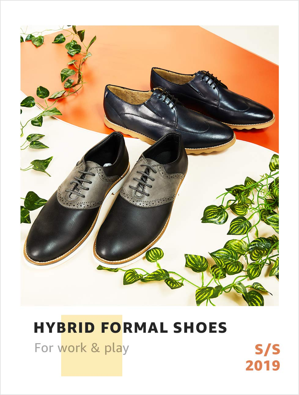 Hybrid formal shoes