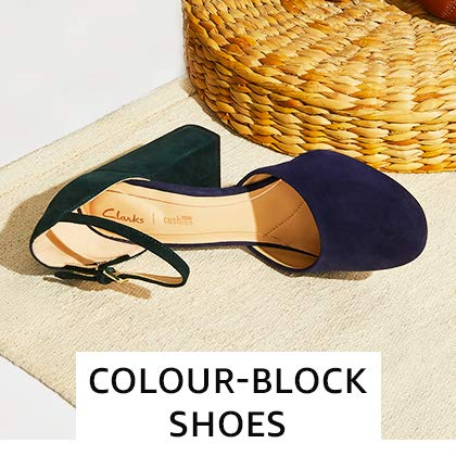 Colour-block Footwear