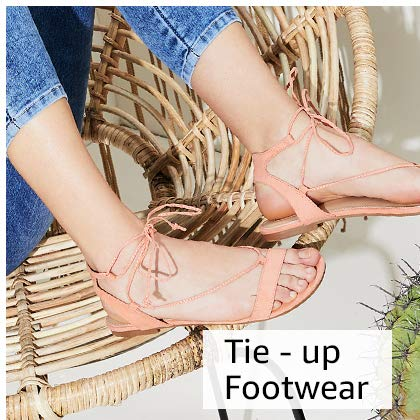 Tie-up Footwear
