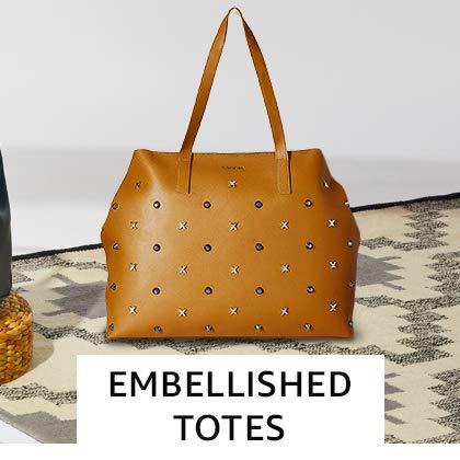 Embellished Totes