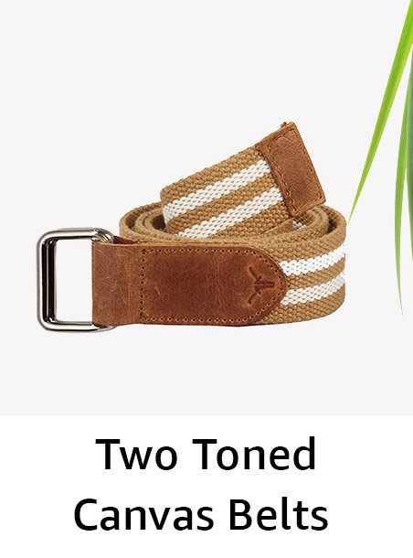 Two toned belts