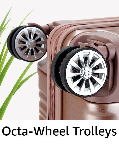 Octa wheel trolleys