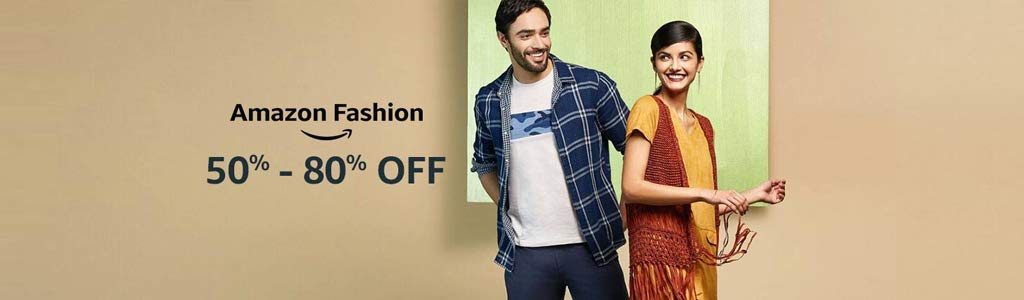 Amazon fashion | 50% - 80% off
