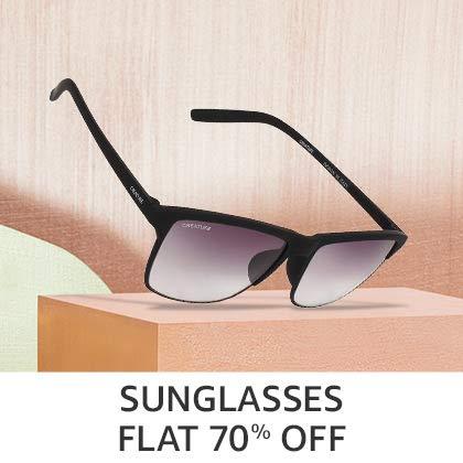 Sunglasses Flat 70% Off