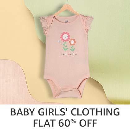 Baby girls Clothing - Flat 60%Off