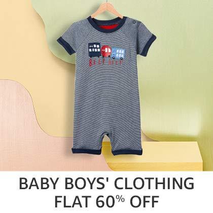 Baby Boys' Clothing - Flat 60%Off