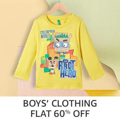 Boys' clothing - Flat 60%Off