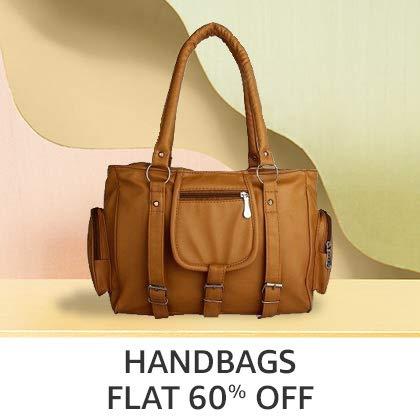 Handbags Flat 60% Off
