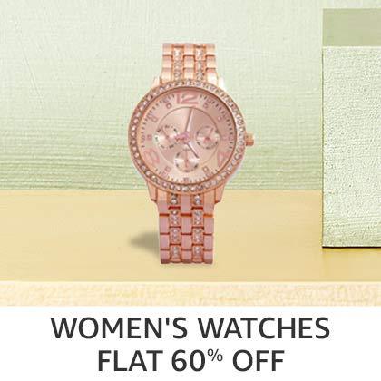 Women's Watches Flat 60% Off