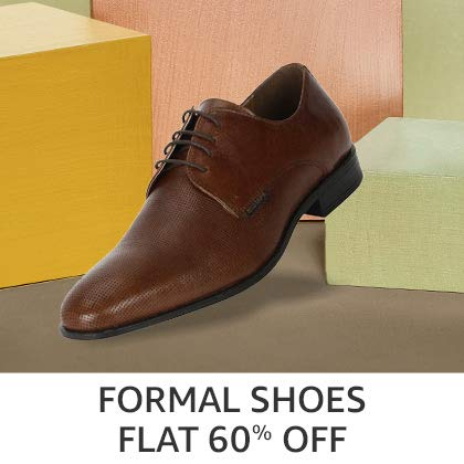 Formal Shoes Flat 60% Off
