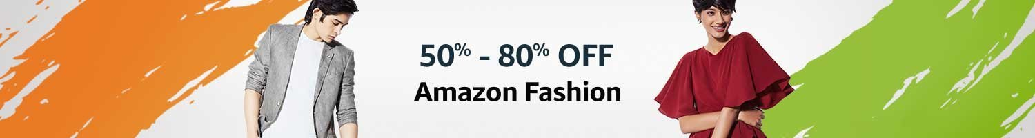 Amazon fashion up to 50% to 80% off