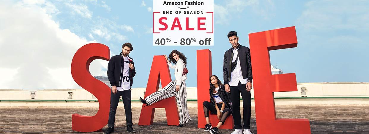 ec10aa2ce Amazon Fashion Sale - Minimum 40% to 80% off + Upto 15% Cashback ...