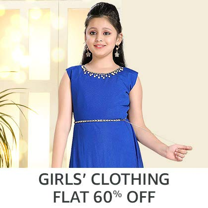 Girls' Clothing - Flat 60%Off
