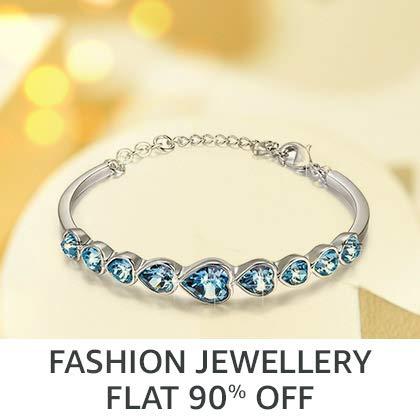 Fashion Jewellery Flat 90% Off
