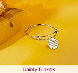 dainty trinkets