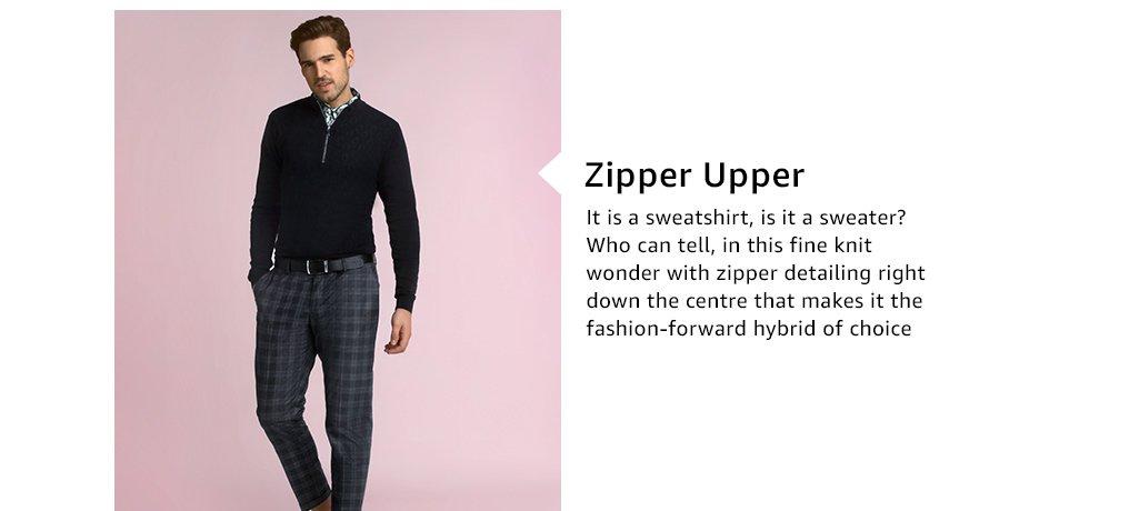 Zipper upper