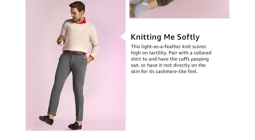 Knitting me softly