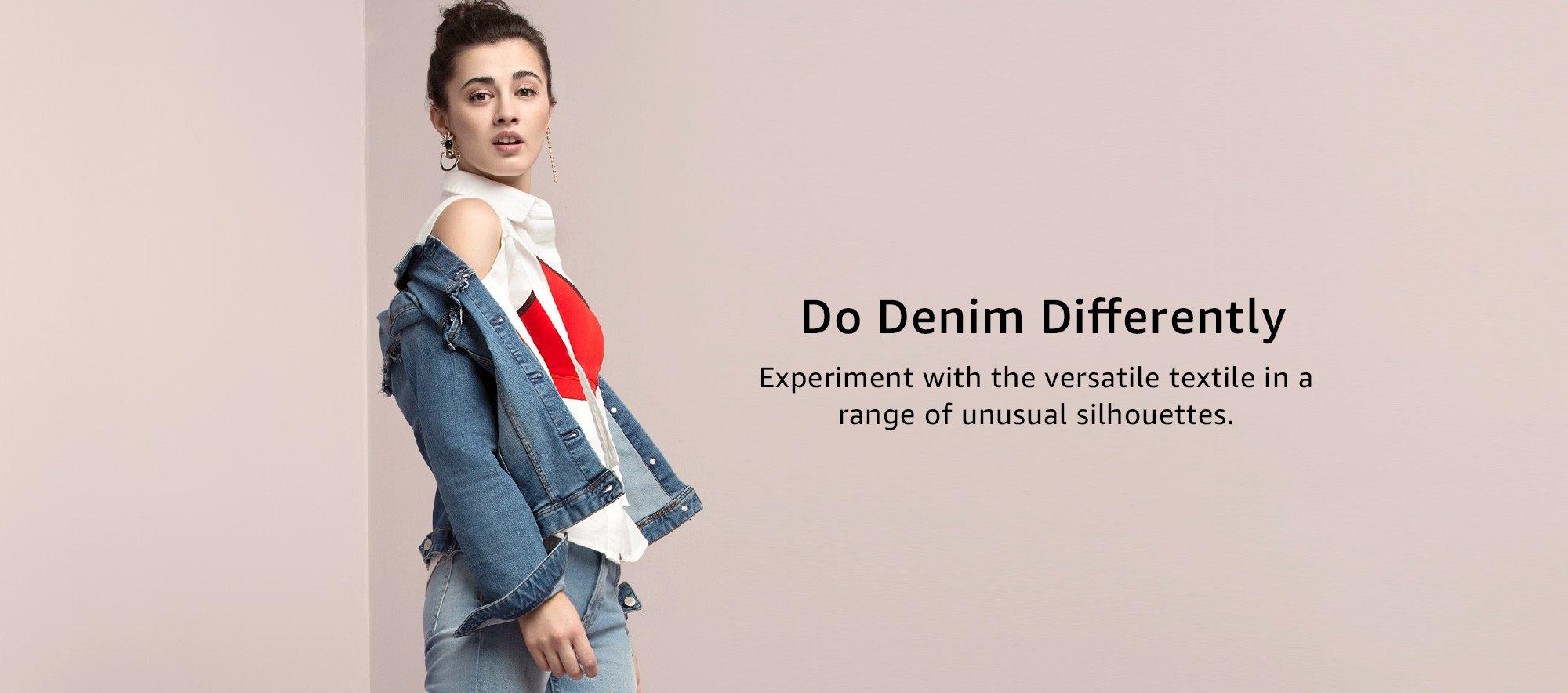 Do denim differently
