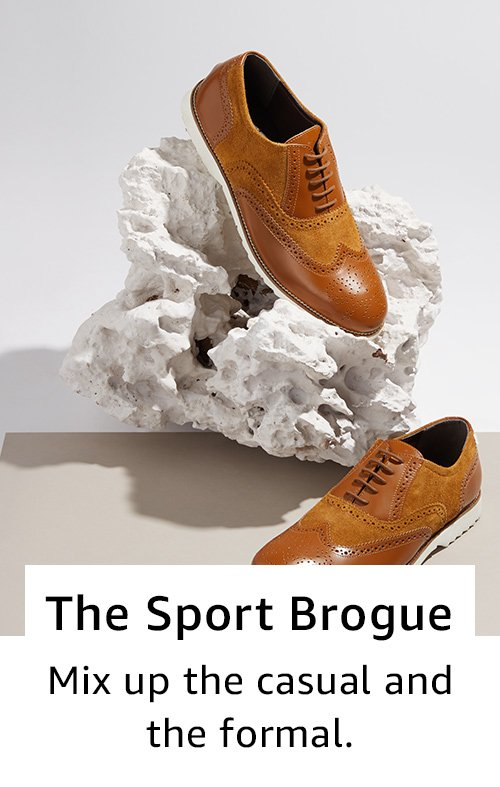 The sports brogue