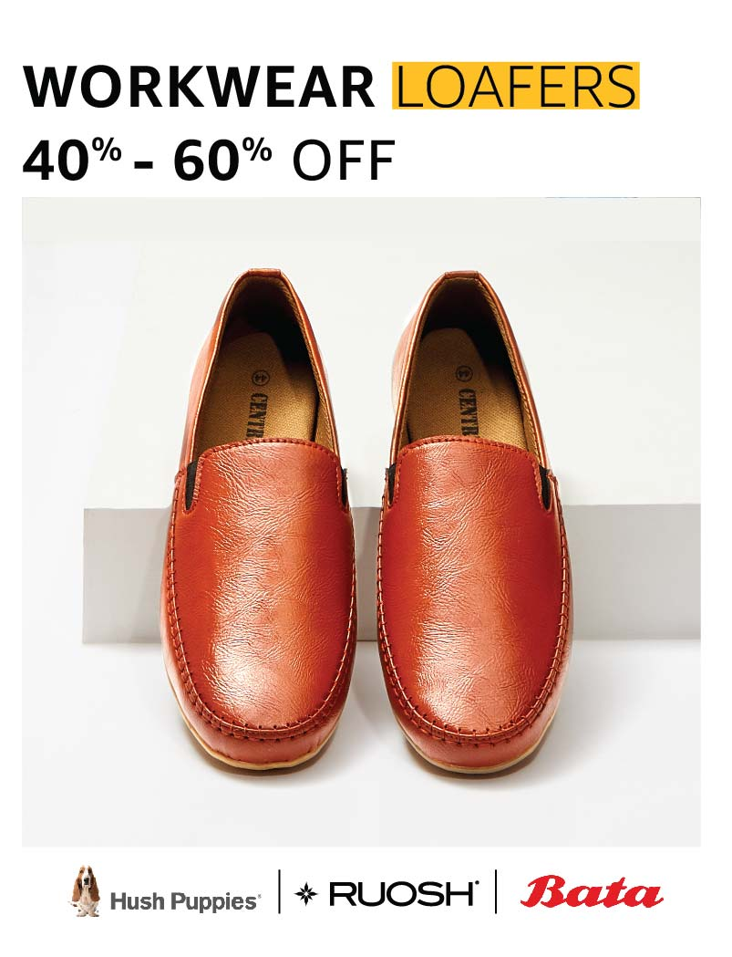Workwear loafers