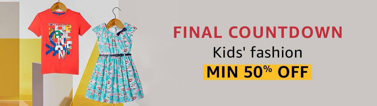 Kids fashion Final countdown