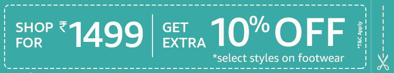 Buy 1499 and get extra 10% off