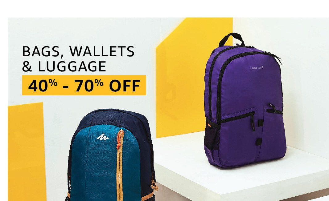 Bags, wallets & luggage