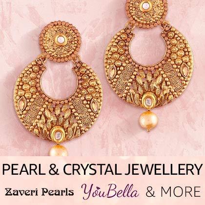 Pearl & Crystal Jewellery