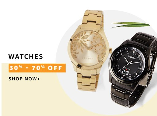 offers on Brand Watches