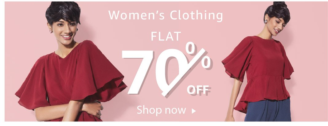 Women's Clothing - Flat 70% off