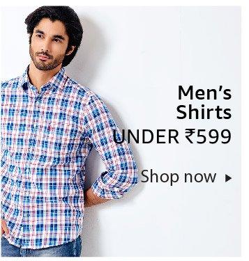 Men's shirts under Rs. 699