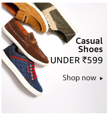 Casual Shoes under Rs. 599