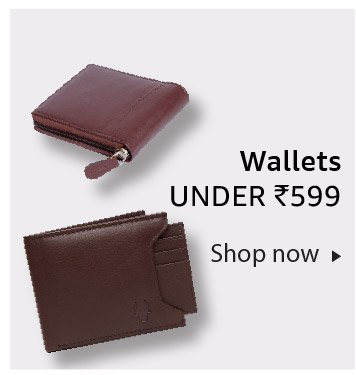 Wallets under Rs. 599