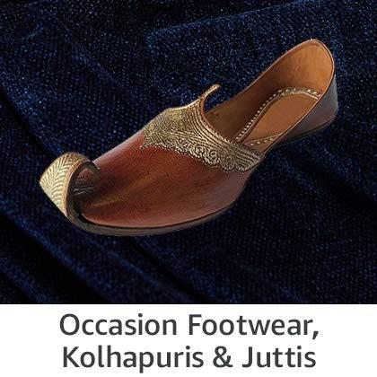 Occasion Footwear, Kolhapuris & Juttis