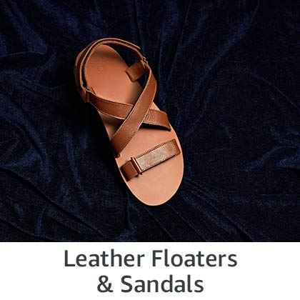 Leather Floaters and Sandals