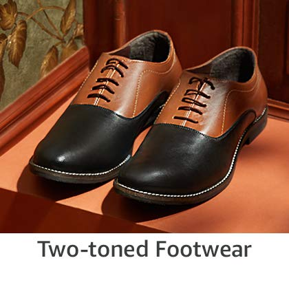 Two-toned Footwear