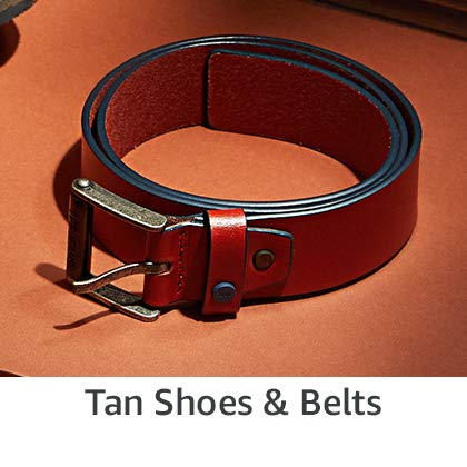 Tan Shoes & Belts