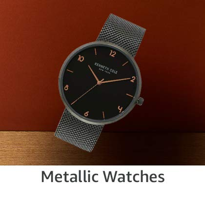 Metallic Watches