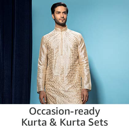 Occassion-ready Kurta & Kurta Sets