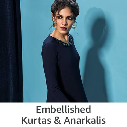 Embellished Kurtas and Anarkalis