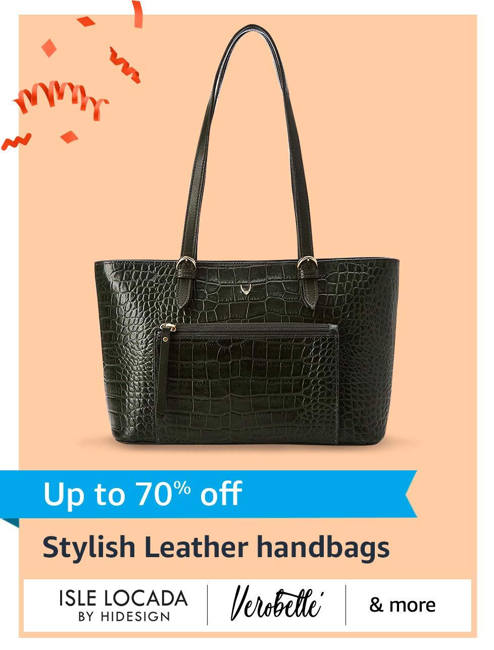 Stylish Leather handbags