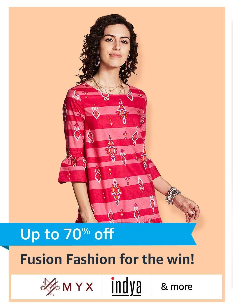 Fusion Fashion for the win!