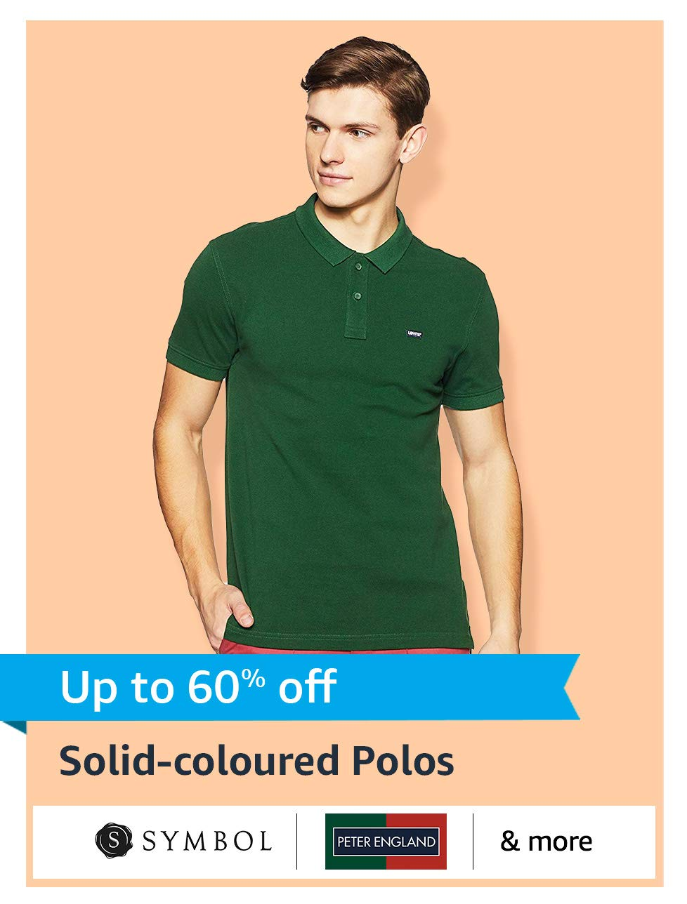 Solid-coloured Polos