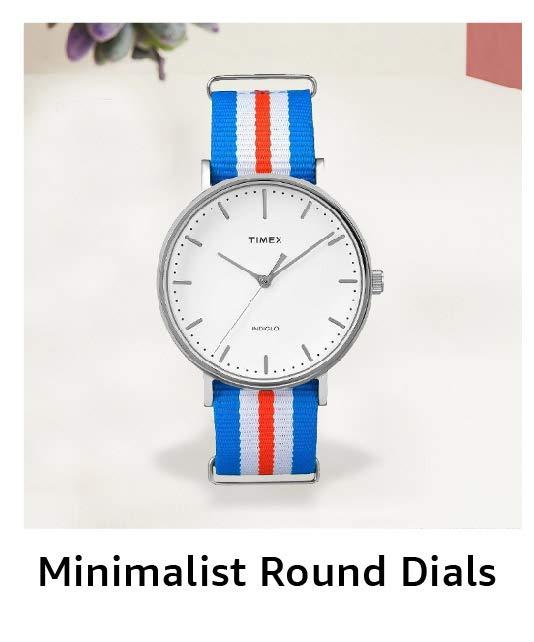 Minimalist Round Dials