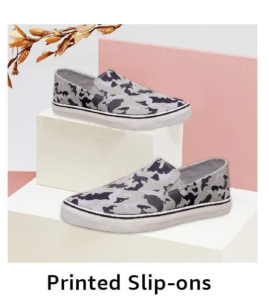 Printed Slip-ons