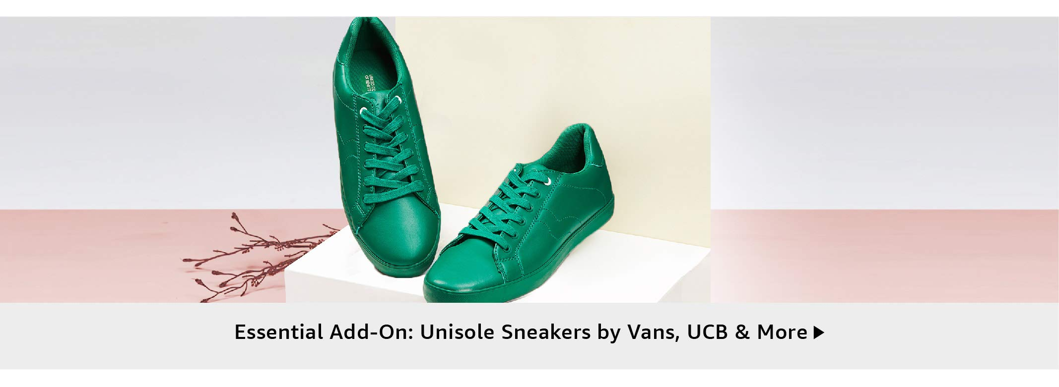 Essential Add-on: Unisole Sneakers