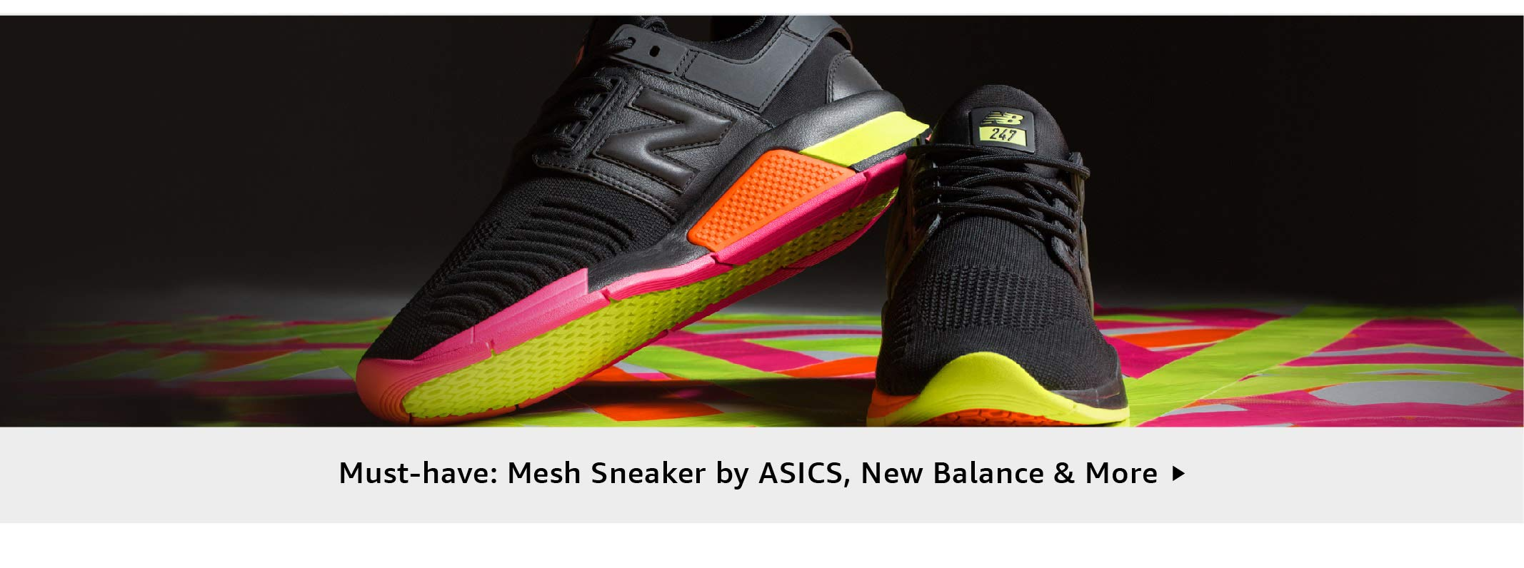 Must-have: Mesh Sneaker by ASICS, New Balance & More