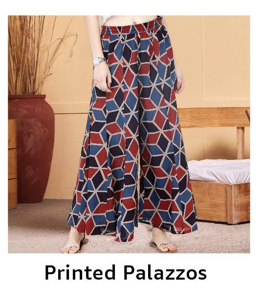 Printed Palazzos